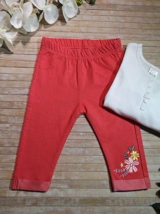 leguins pantalones T 3-6 meses