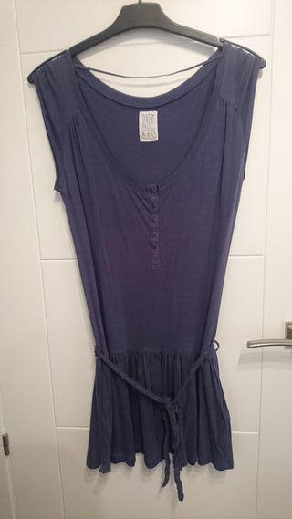 Vestido azul Zara