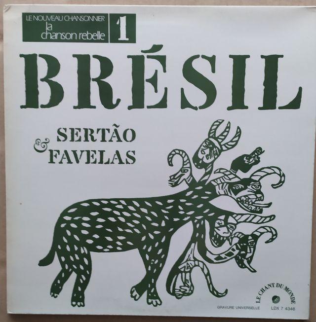 Disco de Vinilo Zelia Barbosa Bresil