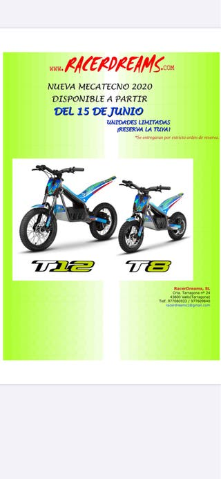 Mecatecno T8 / T12