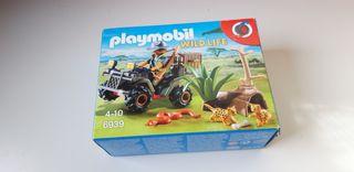 Playmobil 6939, Explorador con Quad, sólo caja.