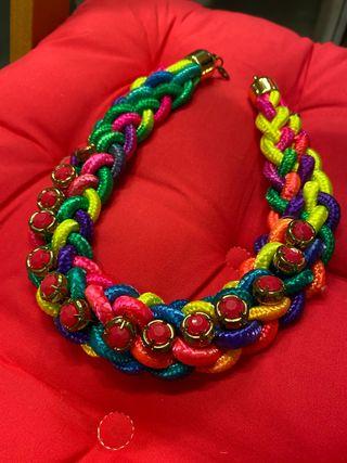 Pack multicolor collar/pulsera