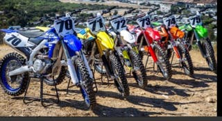 despiece moto de cross enduro cr crf kx kxf exc