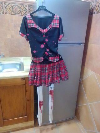 Disfraz colegiala sangrienta