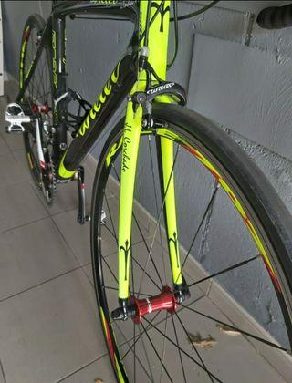 bici carretera, wilier,carbono