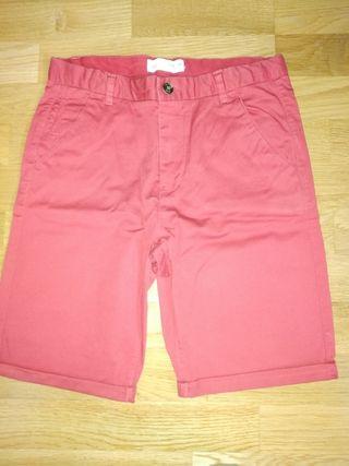 pantalón corto salmon