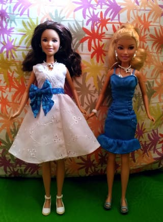 Barbies Grabiela y Sharpey