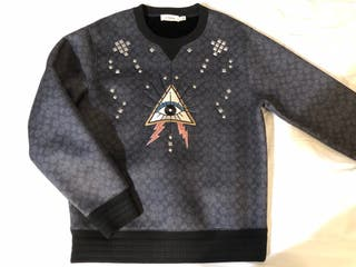 Coach Jersey Signature Pyramid Eye Sweatshirt
