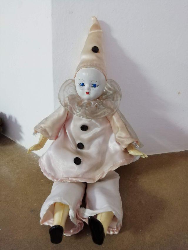 Payaso de porcelana, vintage