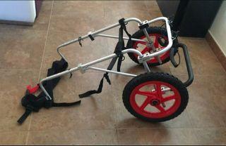 Silla de ruedas para perro grande