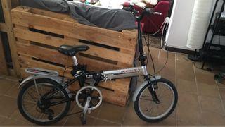 Bici plegable Monty Aluminium
