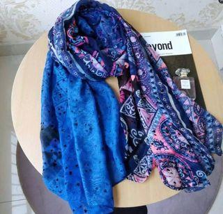 Precioso pañuelo foulard desigual ETIQ Nuevo