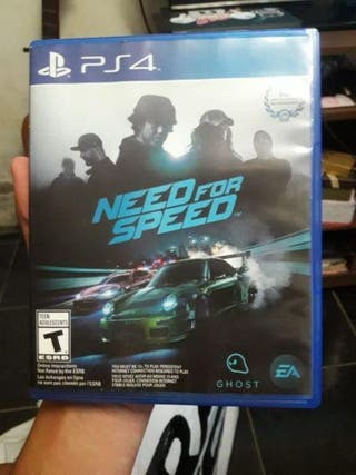 Need for Speed PS4 Juego