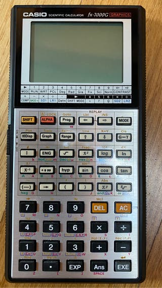 Calculadora Casio fx-7000G Graphics