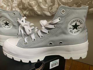 Converse lugeed all star gris