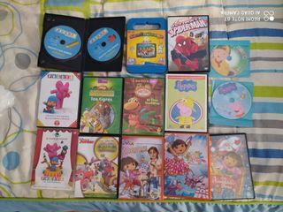 DVD infantiles