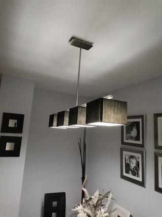 Conjunto lámparas de salon