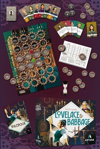 Lovelace & Babbage Edición Deluxe Kickstarter