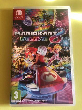 Cambio Mario Kart 8 Deluxe