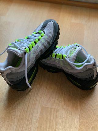Zapatillas nuevas tiene 15 días