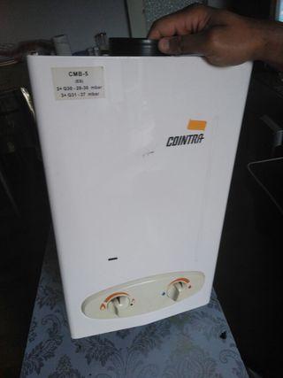 Calentador de agua a gas butano