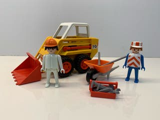 Playmobil 3507 retroexcavadora