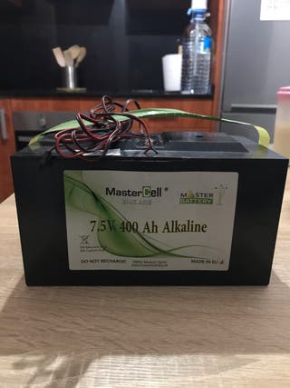 Batería para alarma de hogar