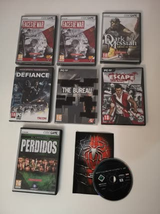 DEAD ISLAND, SPIDERMAN, DARK MESSIAH