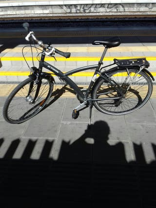 bicicleta btwin original paseo hibrida