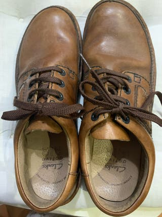 Zapatos de caballero marrón