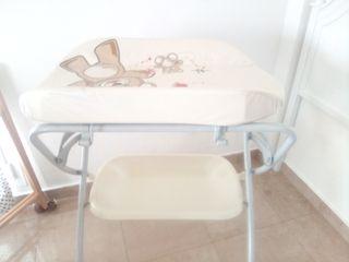 mueble bañera bebe