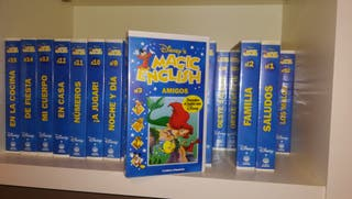 Colección Magic English VHS