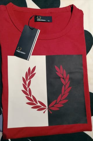 Camiseta Fred Perry Nueva