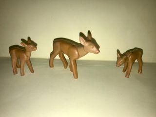 Playmobil ciervos