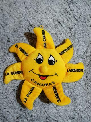 Peluche sol Canarias