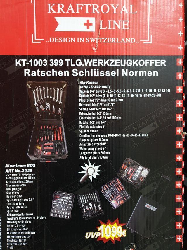 kit de herramientas 399 piezas (ENVIO GRATIS)