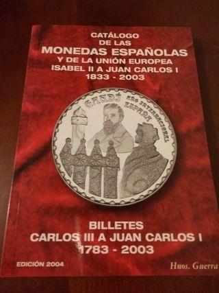 Catálogo monedas y billetes españoles