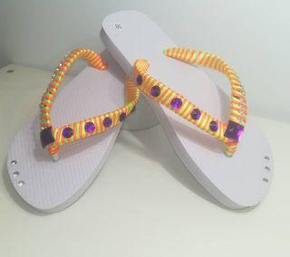 Hermosas sandalias de verano