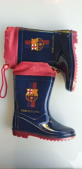 Botas Agua Barça