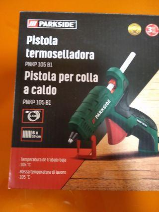 Pistola Silicona termoselladora