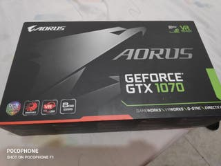 GTX 1070 AORUS 8GB PERFECTO ESTADO