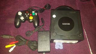 Nintendo Game cube negra