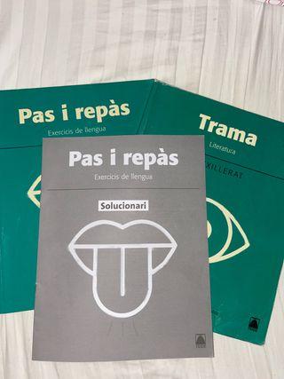 Libro de catalán 1 bachillerato