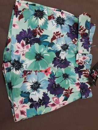 Falfa pantalón flores