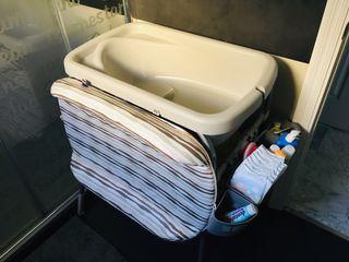 Cambiador bañera chicco