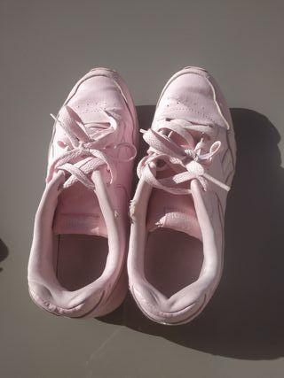 zapatillas rosa Reebok