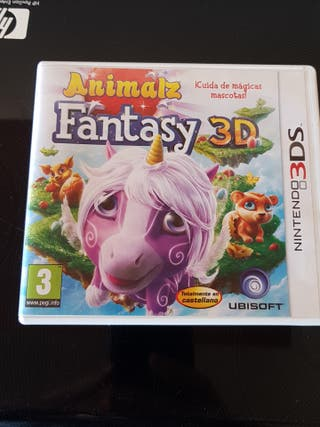 juego animalz fantasy 3d nintendo 3ds