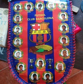 Banderin FC Barcelona. Dream Team. Barça