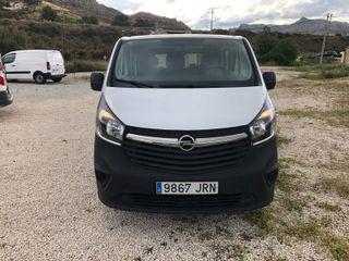 Opel Vivaro 2016 1.6tdci 115cv 6plazas larga