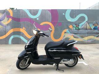 Moto scooter Peugeot
